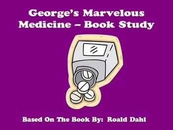 George's Marvelous Medicine - Book Study. This book is one of my favorites! :)