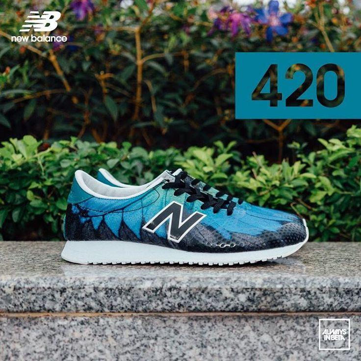new balance 420 peacock