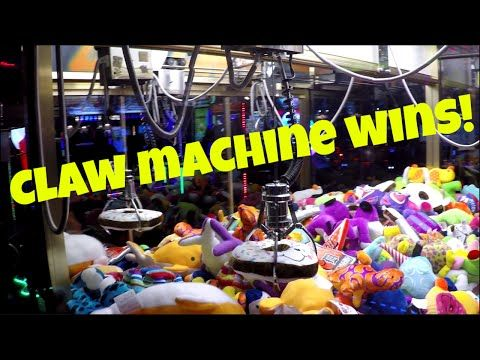 How To Win The Claw Machine Every Time | Arcade Hacks | - YouTube