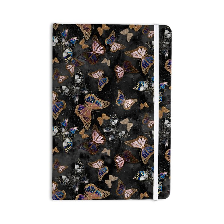 43 best notebooks images on pinterest notebook journals and laptops nikki strange galactic butterfly black brown everything notebook fandeluxe Image collections