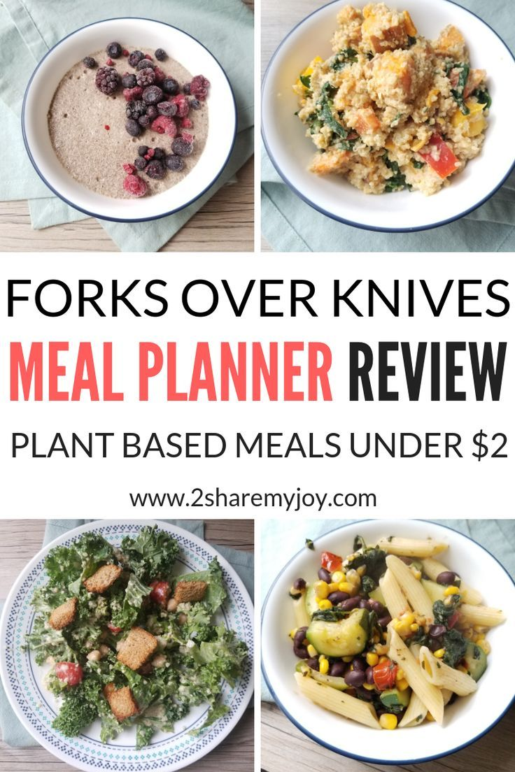 Forks Over Knives Meal Planner Review