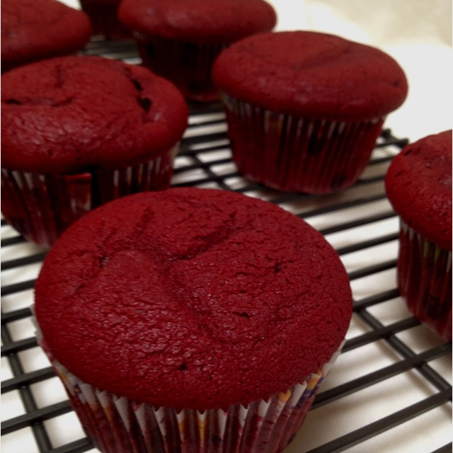 First Cupcake...