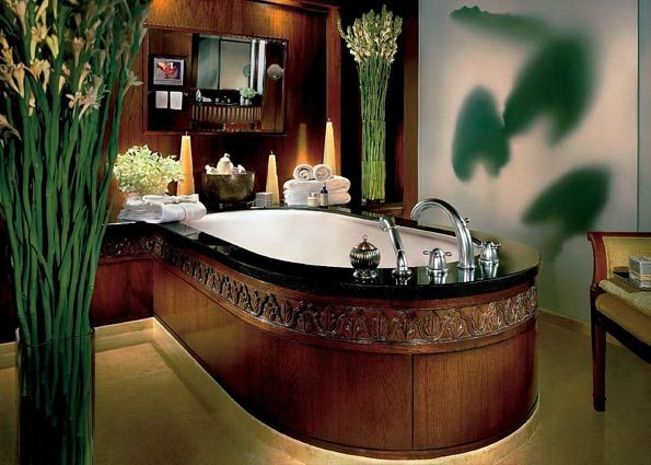 A beautifully intricate design on the baths at  Anantara Siam Bangkok Hotel  in  Thailand16 best Bathroom inspo images on Pinterest   Resort spa  Luxurious  . Luxurious Baths. Home Design Ideas