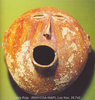 Solitary Dog Sculptor I: Ceramic - Ceramica: Argentina Precolombina - Pre-Columbian - Condorhuasi culture (Northwest)