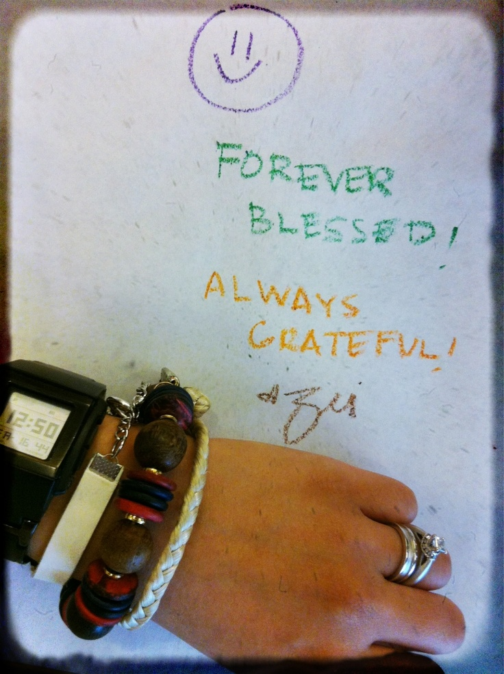Always grateful <3
