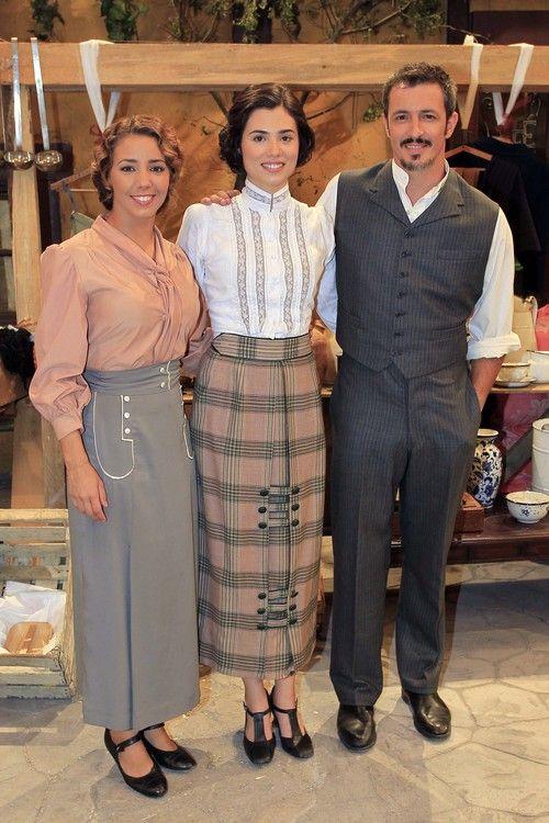 Sandra Cervera, Loreto Mauleón y Fernando Coronado en los 400 capítulos de 'El secreto de Puente Viejo'