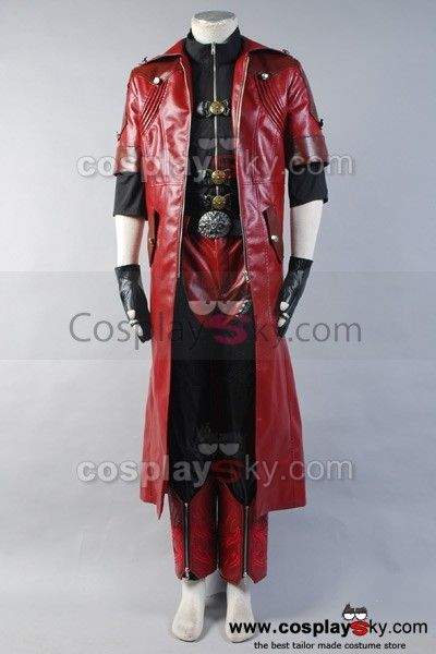 DMC Devil May Cry 4 Dante Cosplay Costume Custom Full Set, Tailor Made in your own measurements.