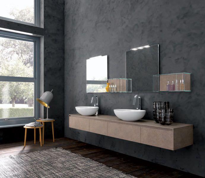 Doppel waschtischunterschrank design  Die besten 25+ Waschtischunterschrank hängend Ideen auf Pinterest ...