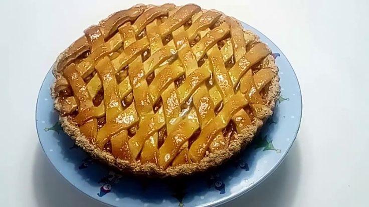 طريقه عمل تارت التفاح الجديده من مطبخ الشيف شكري Desserts Food Apple Pie