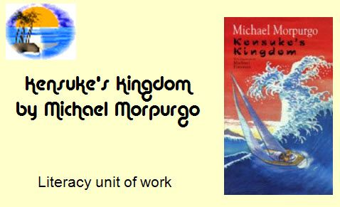 Kensuke's Kingdom transition unit - A wide variety of tasks on Kensuke's Kingdom by Michael Morpurgo.