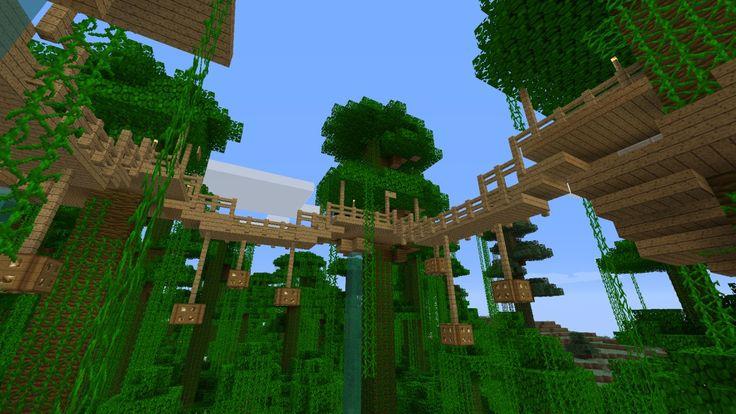[1.4.6] Jungle Tree House Survival (v2.0) Minecraft Project
