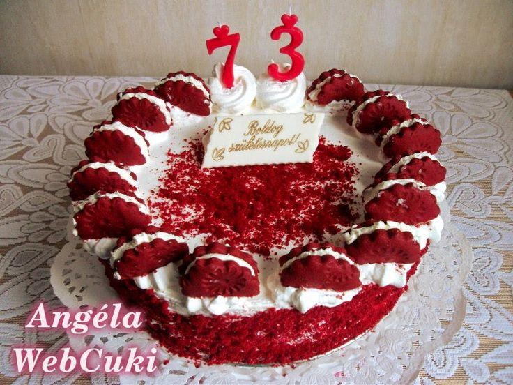 Red velvet oreo epres torta http://angelawebcuki.blogspot.hu/2015/03/red-velvet-oreo-epres-torta.html