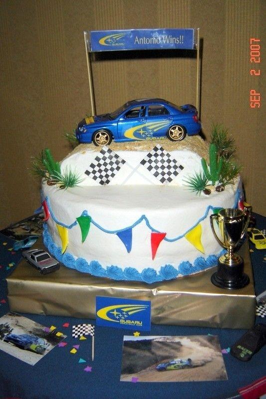 Rally Car Cake Cakes 4all Cumplea 241 Os