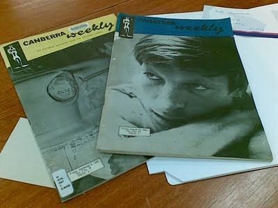 The Canberra Weekly: the pictorial magazine from the National Capital printed in the 1960s