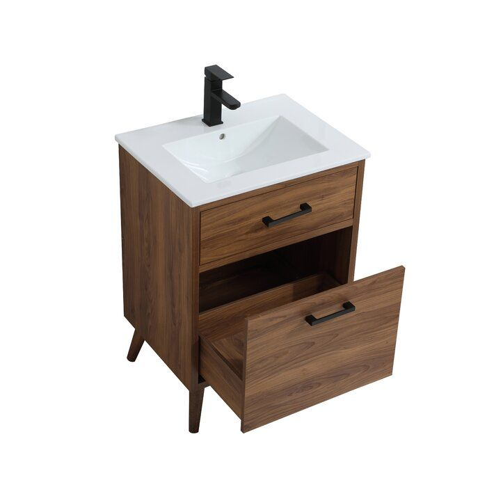Foundstone Joel 24 Single Bathroom Vanity Reviews Wayfair Bathroom Vanity Oak Bathroom Vanity Wood Bathroom Vanity