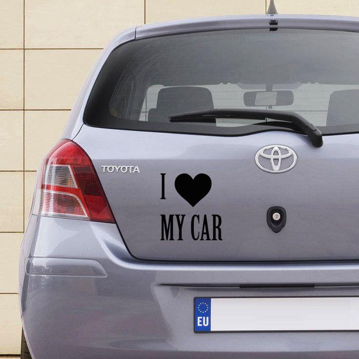 I love my car | diversen | Uniquewinkel