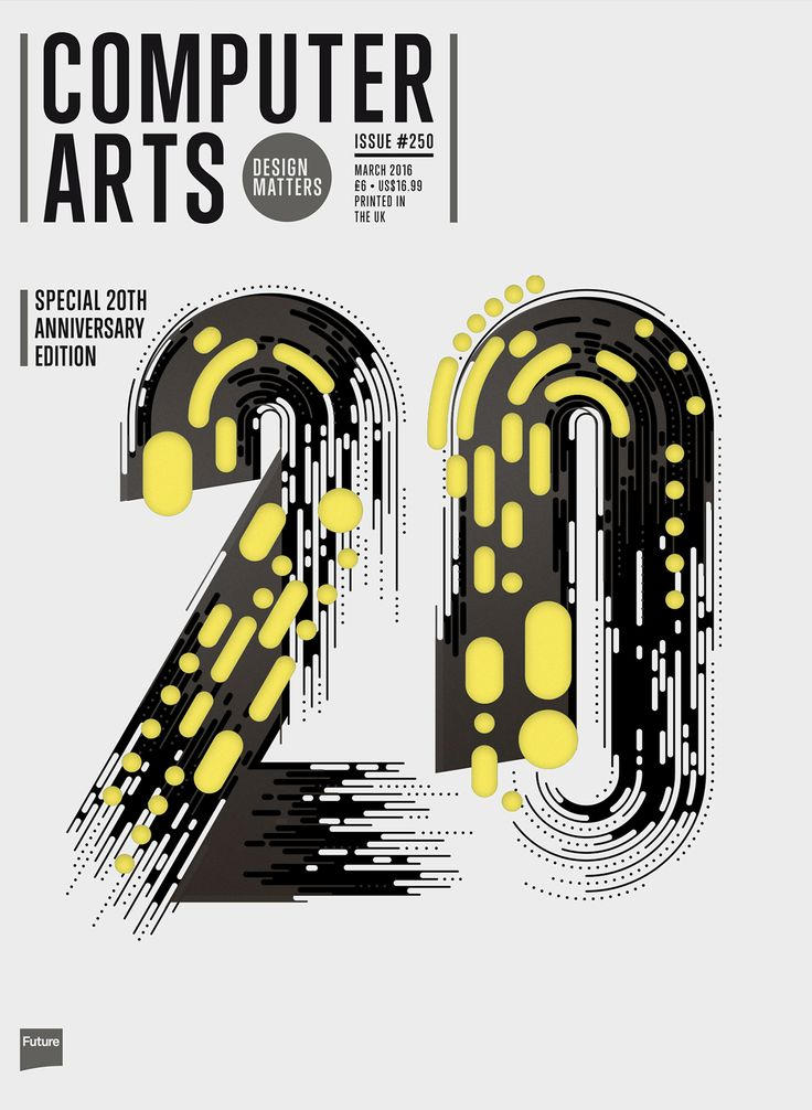 To Help Commemorate Their 20th Anniversary British Design Magazine Computer Arts Invited Us To Create