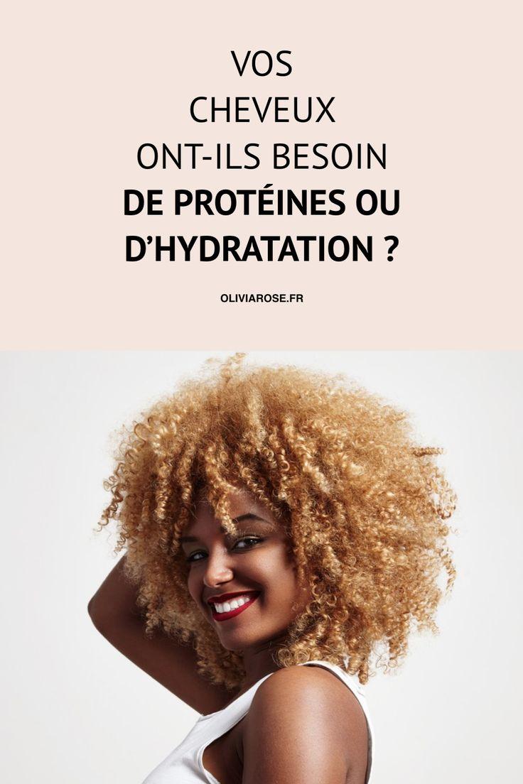 Des cheveux crépus cassants ne nécessitent pas forcément un apport de protéines. Très souvent, les cheveux afro crépus naturels ont besoin d'hydratation. Découvrez ce dont vos cheveux ont besoin : hydratation ou protéines.