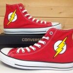 The Flash custom converse