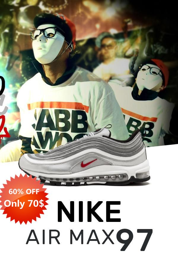 Mens Size New Nike Air Max 97 Silver Bullet Og Qs Replica Sneakers Cheap Nike Air Max Nike Air Max 97 Yeezy