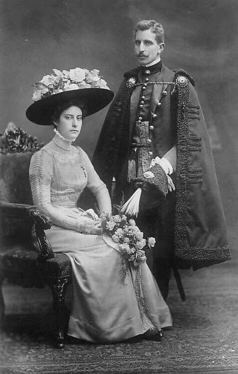 Archduchess Renata of Austria and her husband Prince Jerome Radziwill