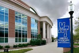 MTSU Middle Tennessee State University in Murfreesboro, Tennessee