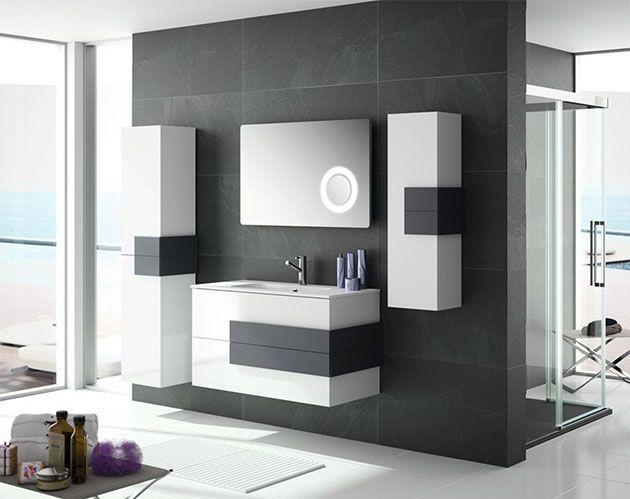 Muebles para cuartos de baño modernos: suspendidos y de líneas ...