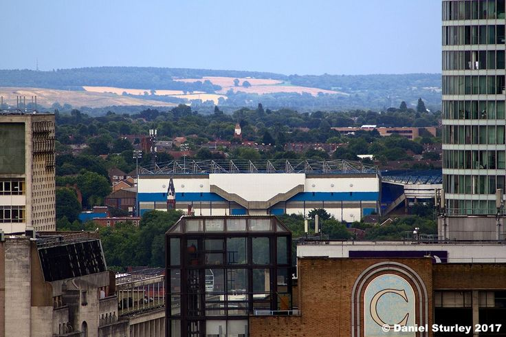 St Andrews from the Birmingham Library roof