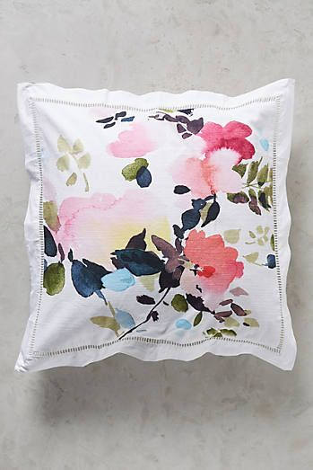 Helen Dealtry Floral Square Pillowcase