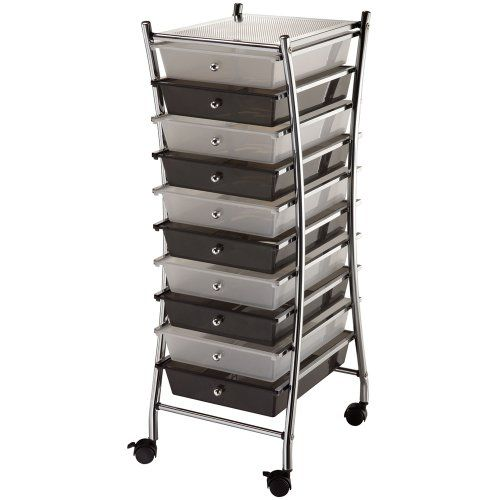 10 best 10 drawer rolling cart u2013 mobile organizer and storage cart the best of