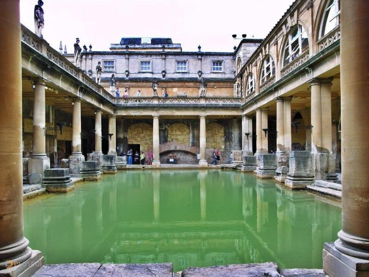 Римские бани – #Великобритания #Англия #Бат_и_Северо_Восточный_Сомерсет (#GB_ENG) Древние римляне - известные любители понежиться в тёплой ванне. Вот и на Туманном Альбионе в качестве наследия эпохи великих завоеваний остались римские термы. http://ru.esosedi.org/GB/ENG/1000197934/rimskie_bani/