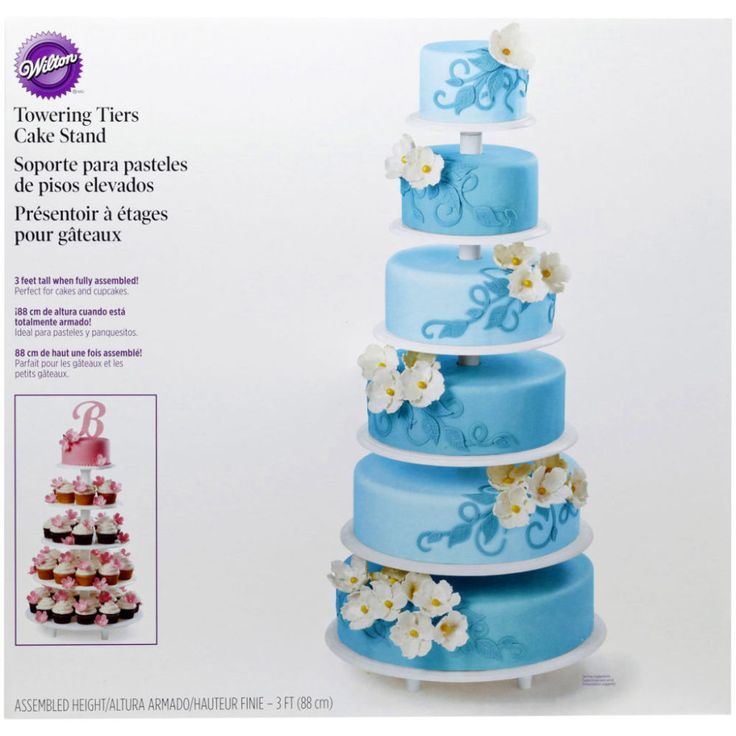 Charming Wilton® Towering Tiers Cake Stand