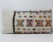 cream bohemian pillow natural pillow case white pillow sham white lumbar pillow cream kilim cushion white pillow case kilim pillow rug 18751