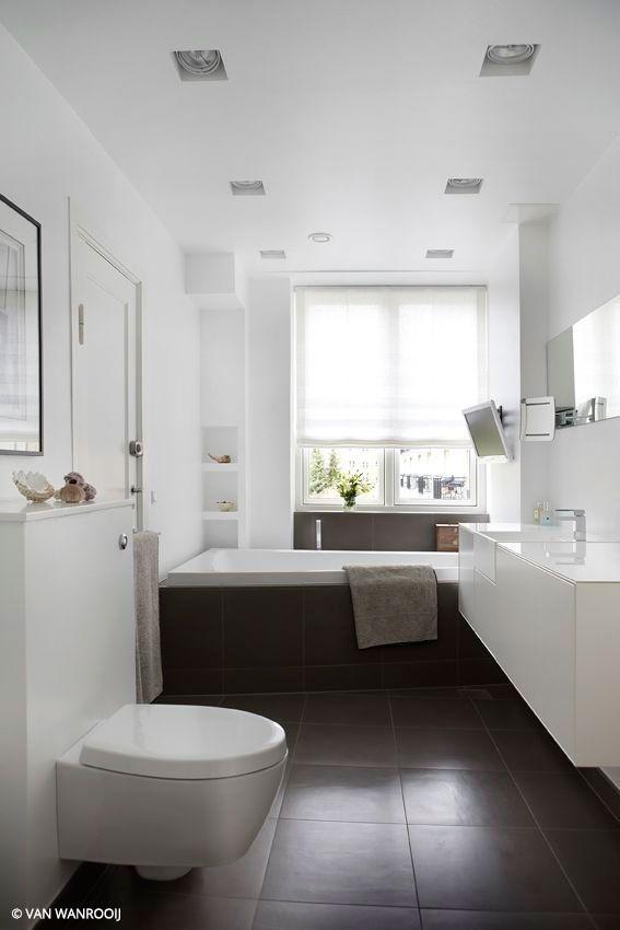 25 beste idee n over rustige badkamer op pinterest kleine badkamer kleuren badkamer verf - Wat kleur aan een badkamer ...