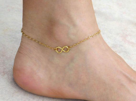Spring Infinity Anklet Ankle Bracelet