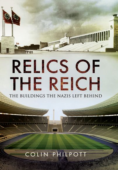 """""""...this is a very well-produced hardback book, copiously illustrated with both modern and contemporary illustrations. It is well-written, engaging and accessible. It serves equally well as a thesis on the buildings of Nazi Germany, as a practical guide to them."""" Historic Musings, 2016.  https://historicmusingsblog.wordpress.com/2016/05/20/review-relics-of-the-reich-the-buildings-the-nazis-left-behind/"""