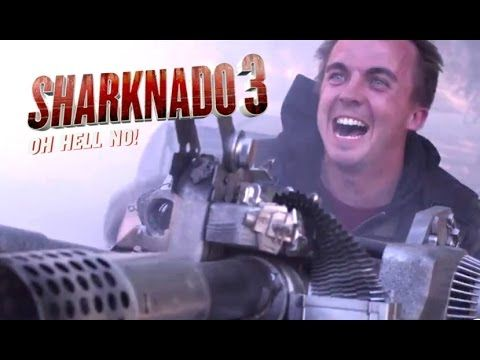 Sharknado 3: Oh Hell No Official Trailer #2 (2015) Frankie Muniz Horror Comedy Movie HD - YouTube