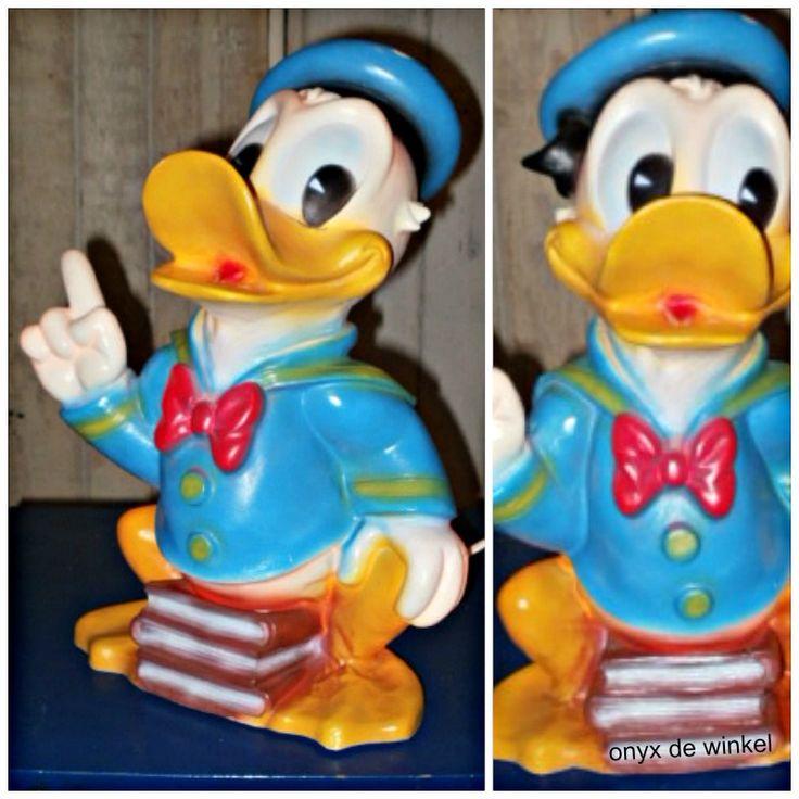 donald duck lamp @onyxdewinkel.nl