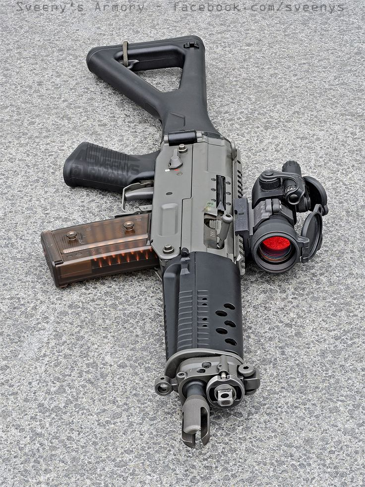 The SIG 552 zombie elimination device
