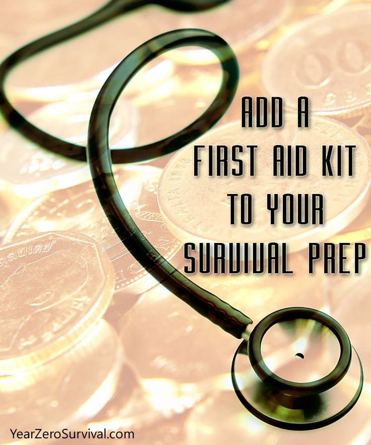 Why It's Important To Add A First Aid Kit To Your Survival Preps : You would think that everyone would understand the obvious, adding a first aid kit to your survival planning and preps. But like many things this is one survival item often overlooked. Whether it's a natural disaster, car crash or a zombie outbreak, medical treatment will always be needed in an emergency situation. We suggest that you consider having at least 3 different types of first aid kits: A small, basic kit for you...