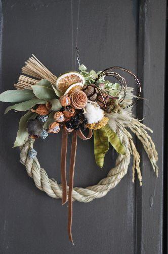 お正月飾り(実)限定2個 - deuxR - Natural Flower - ドライフラワー,リース,花材販売,