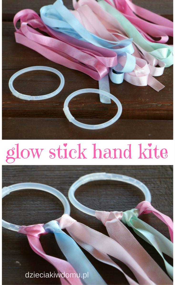glow stick hand kite for kids