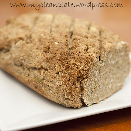 gluten free yoghurtbread yeast free, refined sugar free i love this website!