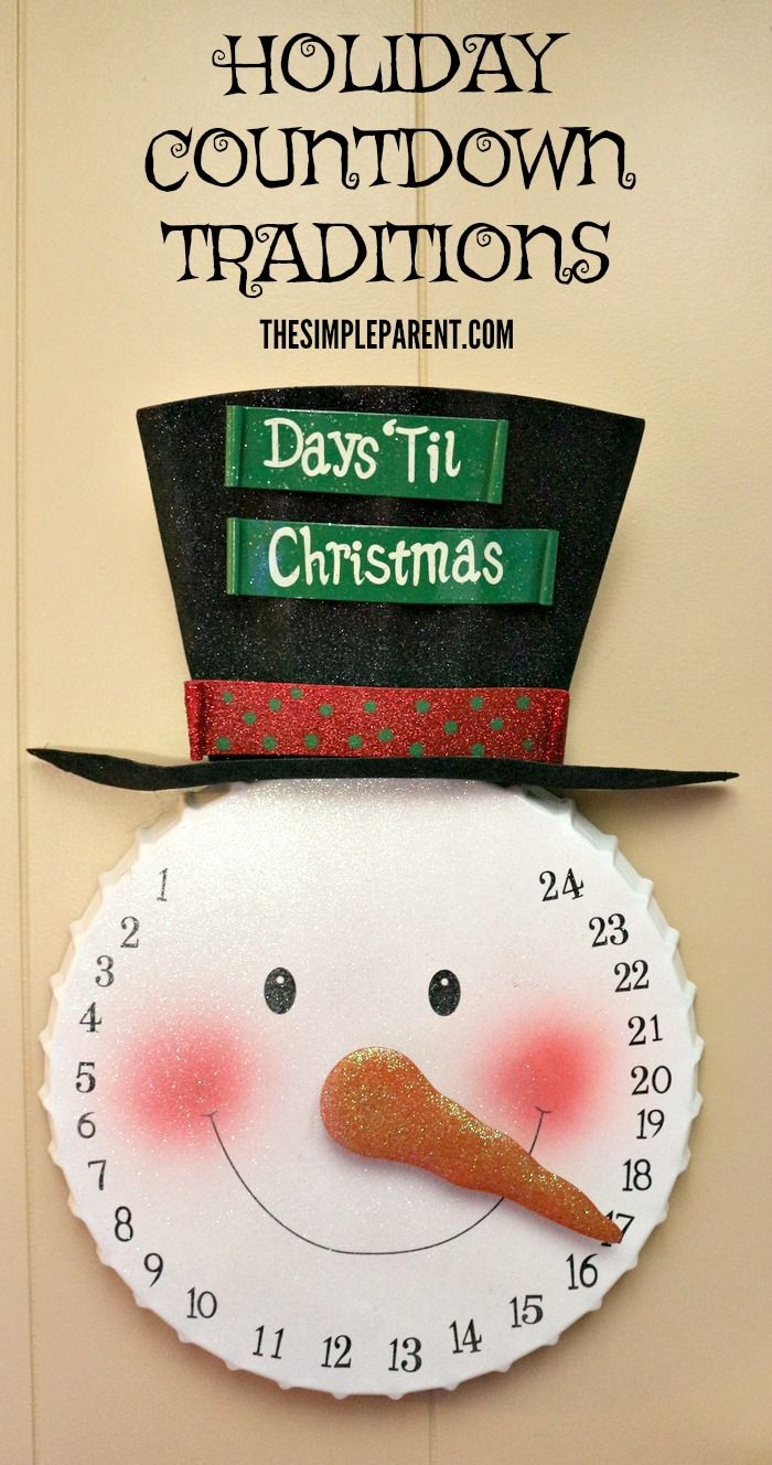 Celebrate with easy holiday countdown traditions for