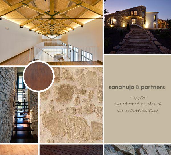 #Proyectos de #rehabilitación by Sanahuja&Partners: rigor, autenticidad, creatividad #arquitectura #interiorismo #moodboard