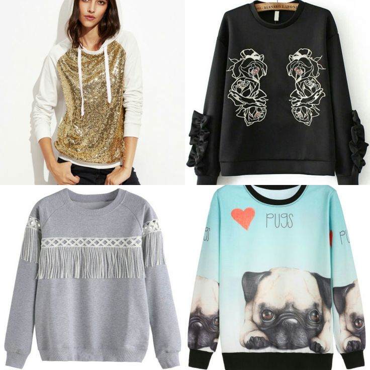 Shpping: sweatshirts - Temporada: Otoño-Invierno - Tags: shopping, moda, inspo, style, fashion - Descripción: Sudaderas originales, todos los enlaces en el blog.