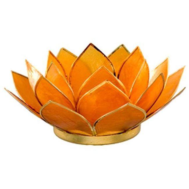 Capiz shell amber lotus tea light philippines three rings shape and the o 39 jays - Capiz shell tealight holder ...
