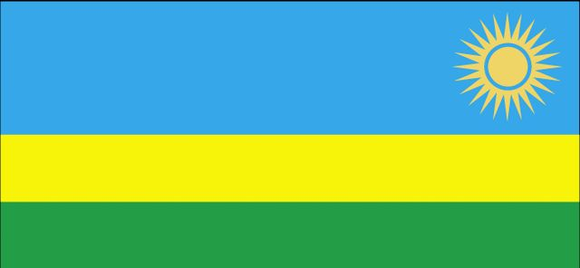 Country Flags: Rwanda Flag