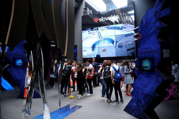 Slovakia Pavilion #Expo2015 #WorldsFair