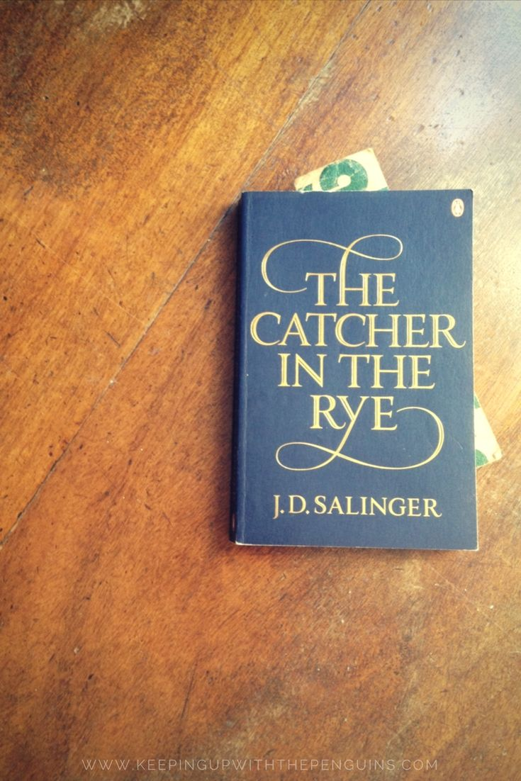 The Catcher in the Rye is mostly internal monologue - not a whole lot of plot. You just follow this wayward kid around New York for a few days while he drinks and smokes himself into oblivion (and chickens out of losing his virginity to a prostitute). You find out, on the final page... #thecatcherintherye #bookreview #jdsalinger